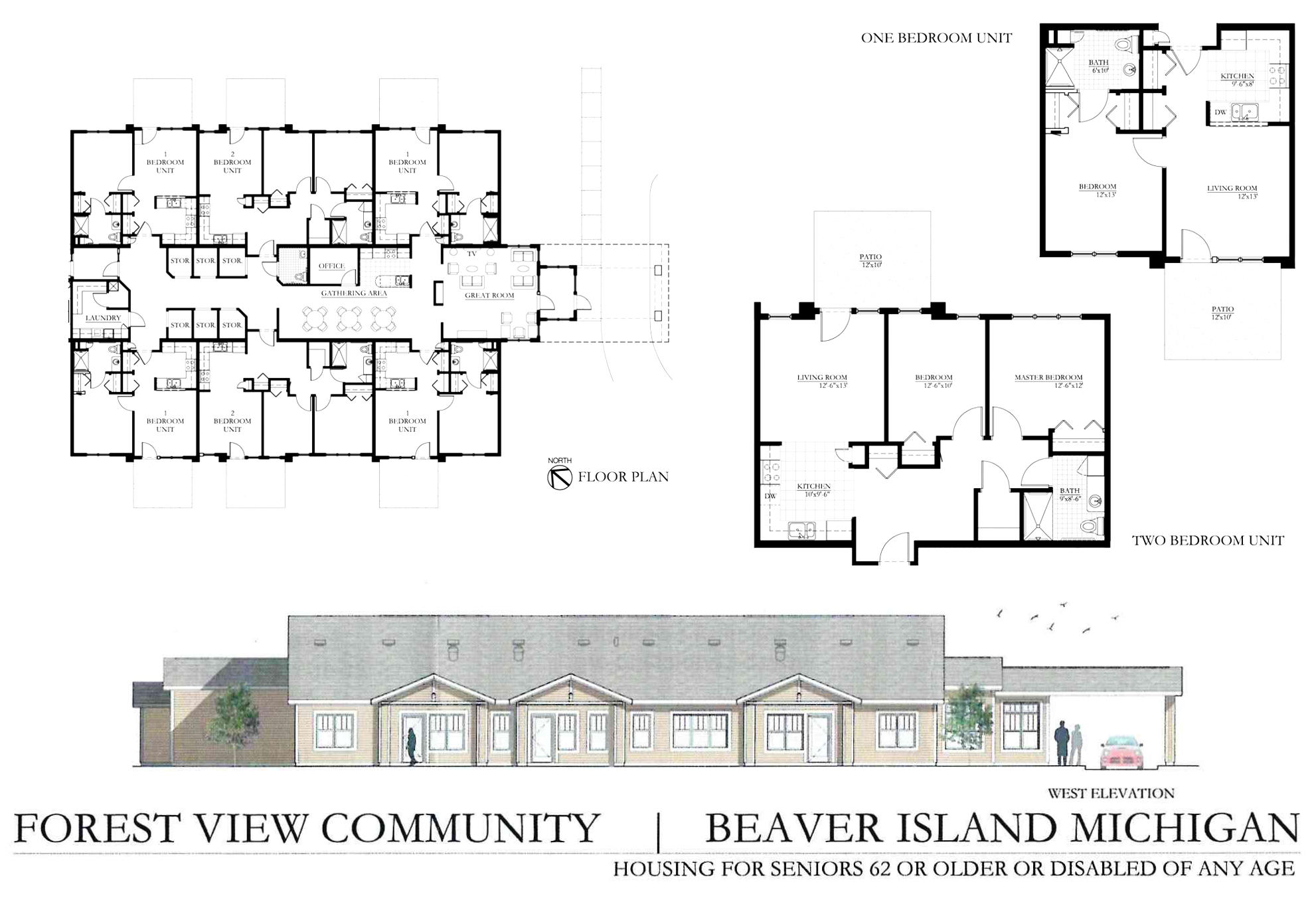Forest View Community Beaver Island Housing for Seniors 62 or older or disabled of any age